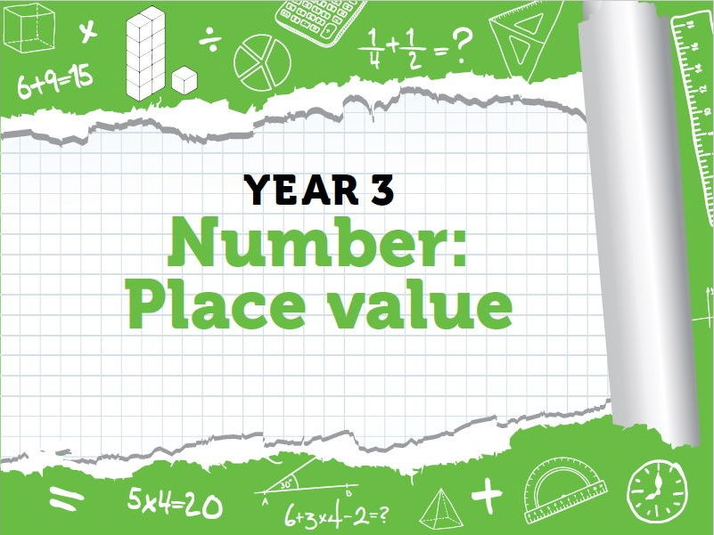 Year 3 - Place Value- Week 1-3