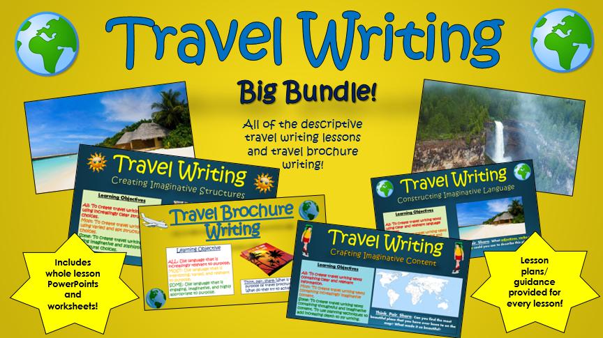 Travel Writing Big Bundle!