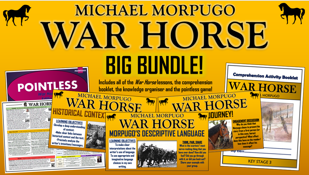 War Horse Big Bundle!