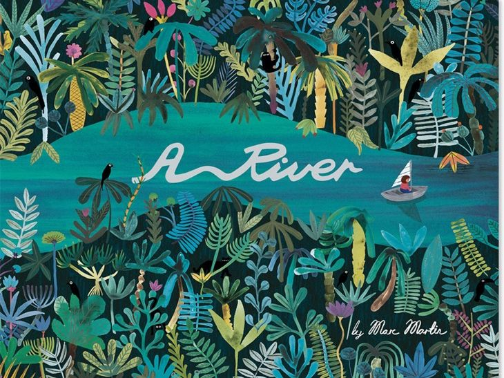 """Descriptive Story Poetry (3 week unit) based on the book """"A River' by Marc Martin"""