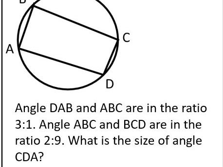 Angles and Ratios