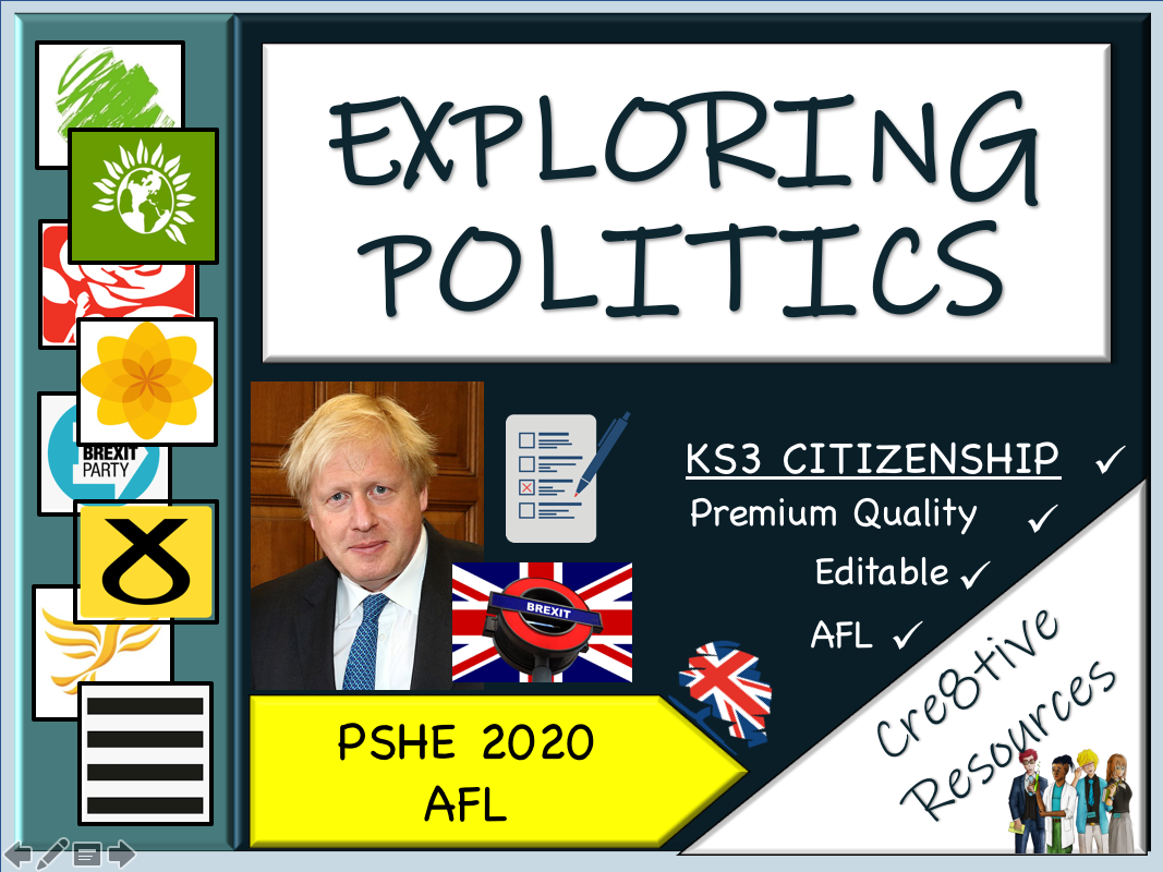 Exploring Politics by cre8tivecurriculum | Teaching Resources