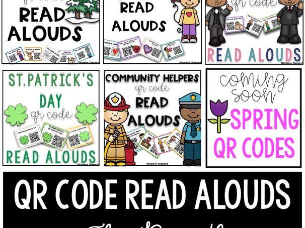 QR Code Read Aloud Bundle
