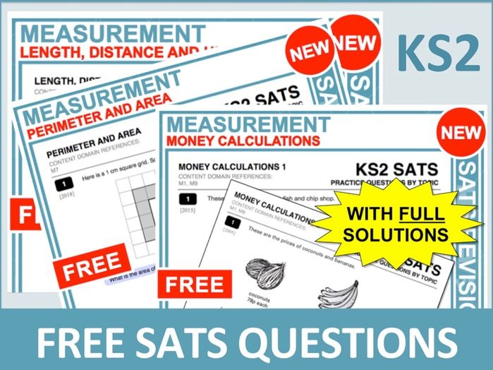 SATs Bundle (Measurement)