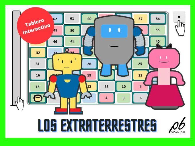 LOS EXTRATERRESTRES - JUEGO DE TABLERO INTERACTIVO / THE ALIENS - INTERACTIVE BOARD GAME
