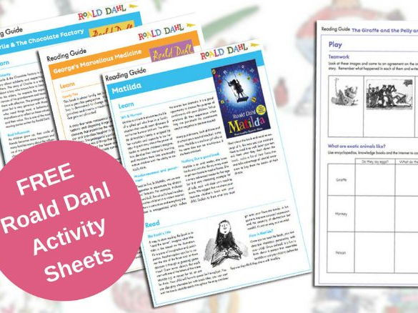 Roald Dahl Activity Sheets