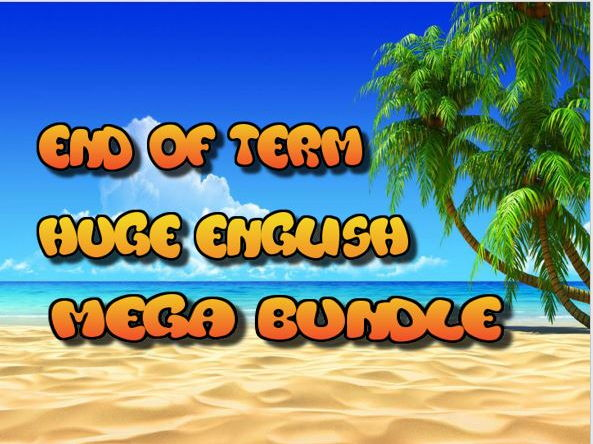 End of Term Huge English Mega Bundle