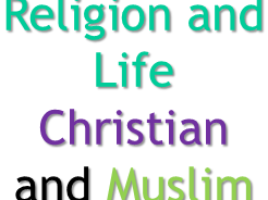 AQA RS Religion and Life Christian and Muslim