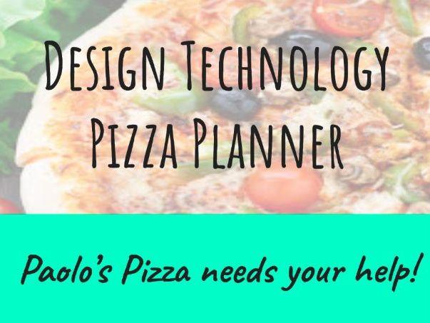 KS2 Design Technology Pizza Series