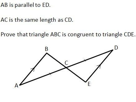 Congruent Triangles Worksheet GCSE