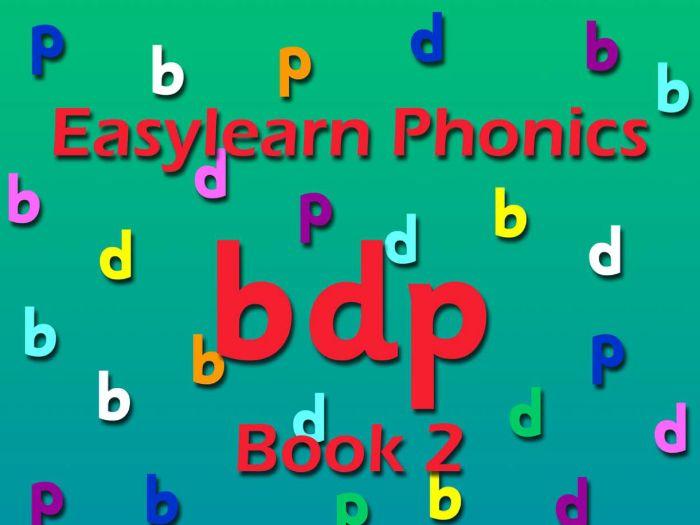 PHONICS: b/d/p book 2