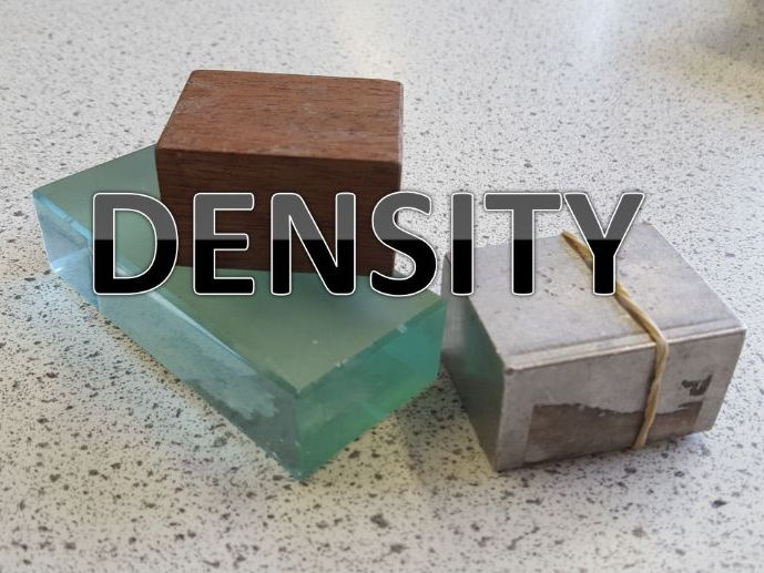 CALCULATING AND MEASURING DENSITY