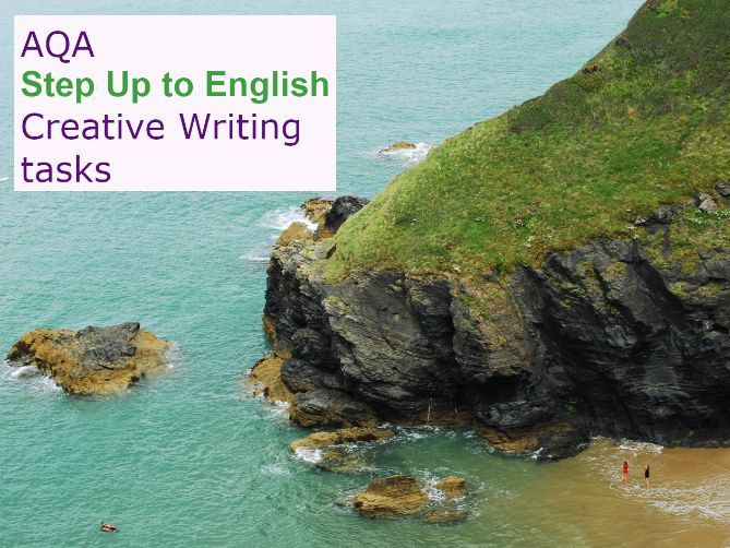 AQA Step Up to English: Creative Writing tasks