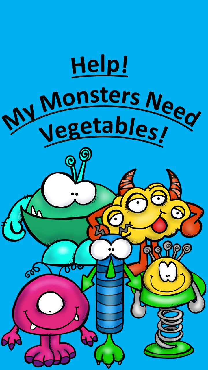 Help My Monsters need vegetables! A fun comprehension and writing activity .