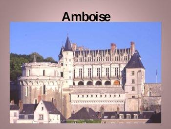 Châteaux de la Loire French Castles PowerPoint