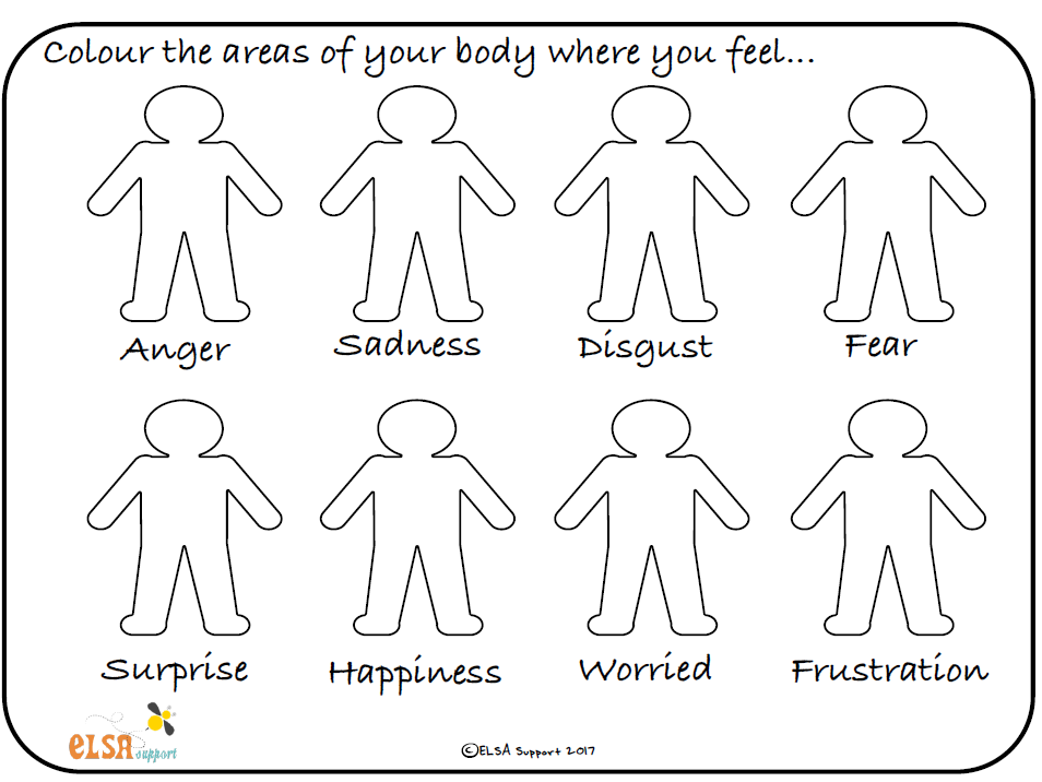 Emotional intelligence - Colour your emotions
