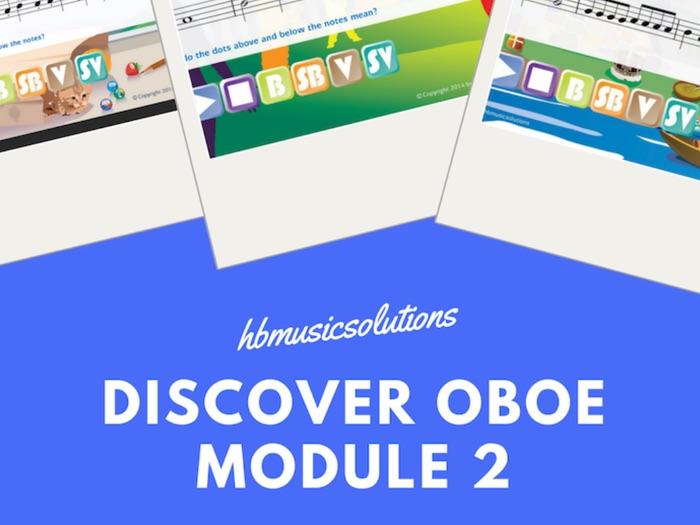 Discover Oboe Unit 2 Interactive Module
