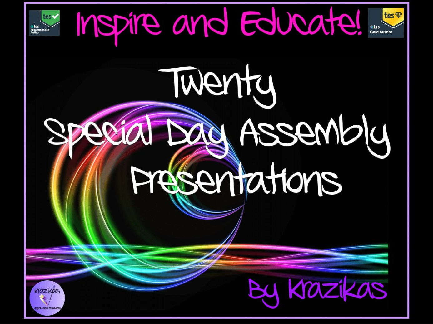 Special Days Presentations: 20 Amazing Assemblies - just £9.99
