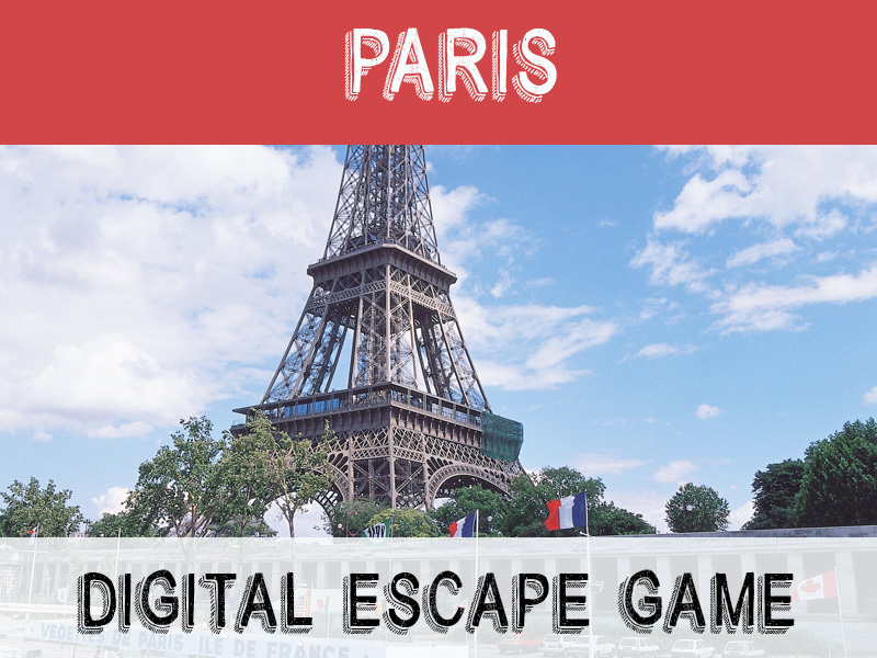Digital Escape game - Paris