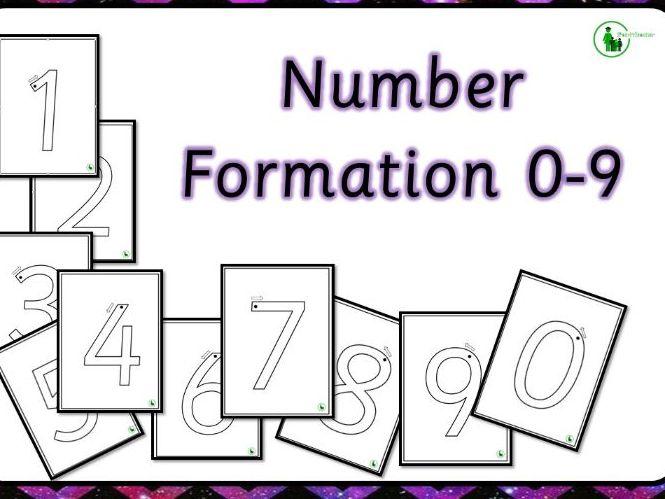 Number Formation 0-9