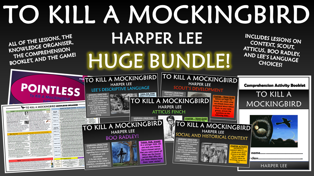 To Kill a Mockingbird Huge Bundle!