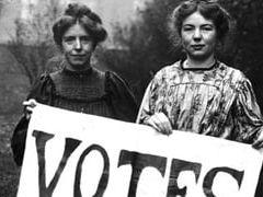 An Inspector Calls - the suffragette movement