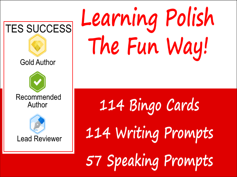 Learning Polish Is Fun Bundle