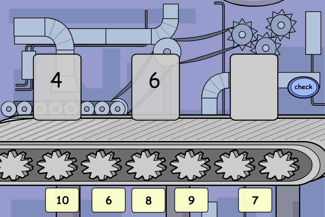 Number Sequence Interactive Activity - KS2 Number