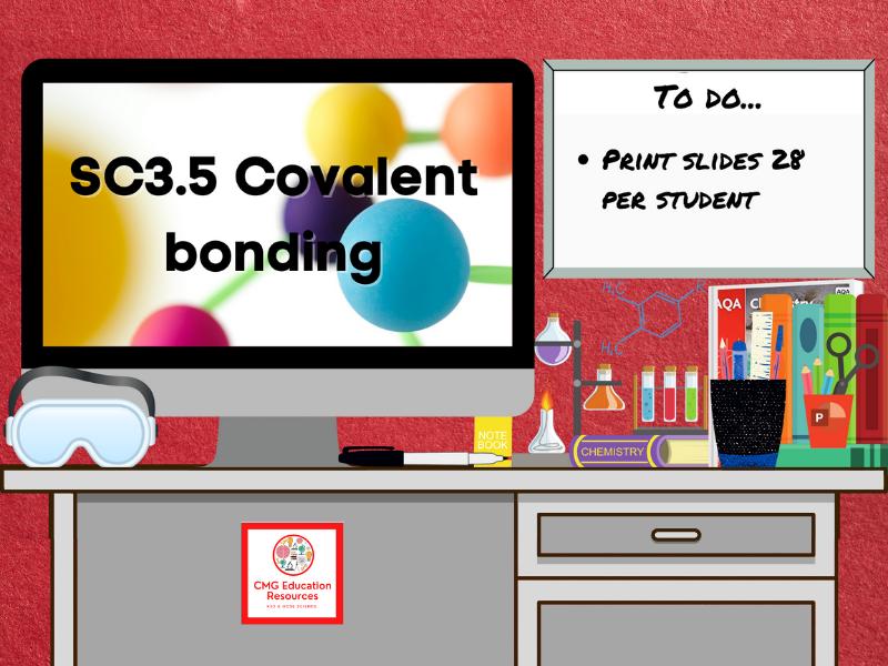 SC3.5 Covalent bonding (AQA 9-1 GCSE Chemistry)