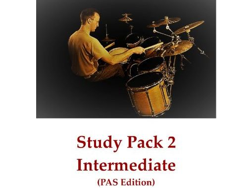 DRUMS Study Pack 2 – Intermediate (PAS Edition)
