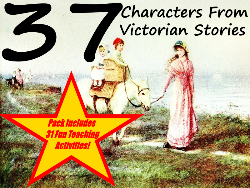 37 Images Of Victorian People Taken From Victorian Era Story Books + 31 Fun Teaching Activities