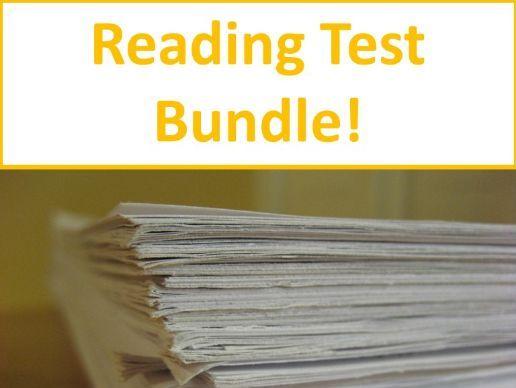 Grade 7 Prentice Hall Lit Unit 2 Short Stories Reading Tests Bundle 13 Total