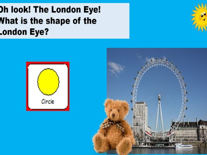Sensory Story Teddy goes to London Autism Visuals Weather/ My city /Geography