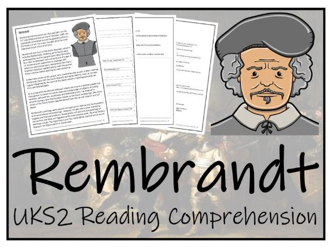 UKS2 Rembrandt Reading Comprehension Activity