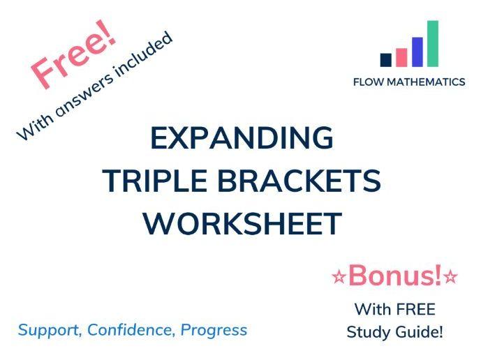 Expanding triple brackets
