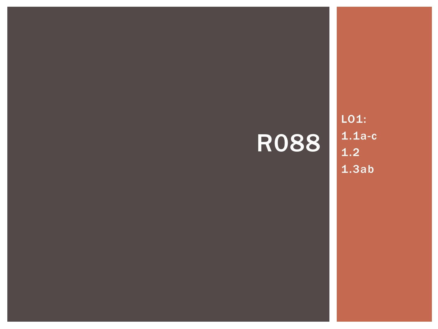 R088 - Creating a Digital Sound Sequence, [LO1], CAMNATS, Creative iMedia Lvls 1/2