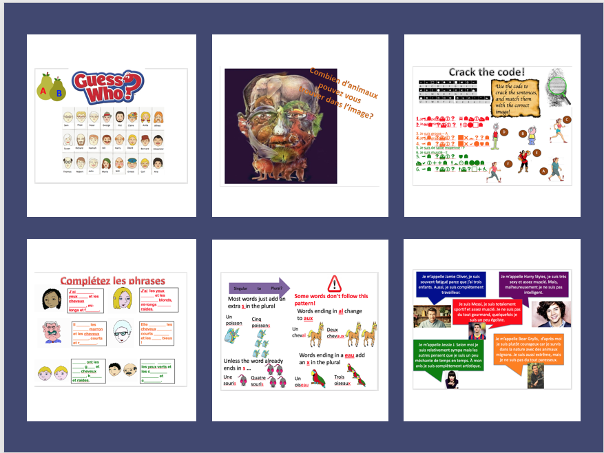 Expo 1 Module 2 (family, pets, physical descriptions, personality)- complete topic - differentiated lessons with worksheets and homework