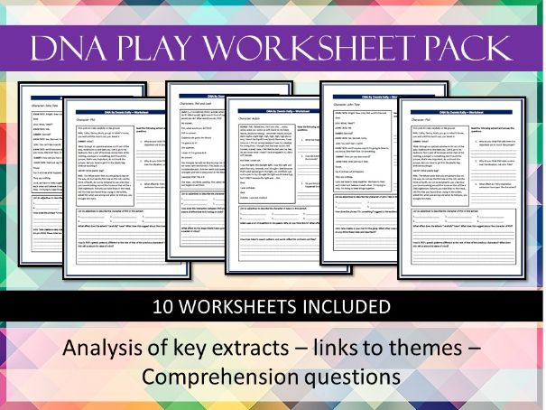 DNA Play Worksheets Pack