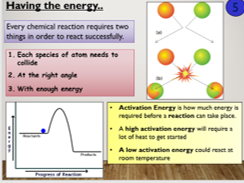 KS4 C8.2 Collision theory