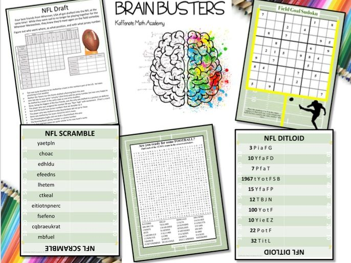 Kaffenate Brain Buster--NFL Edition