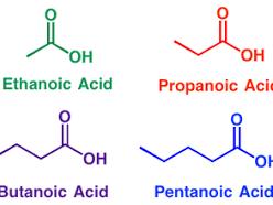 Chemistry: Alkanoic Acids (Carboxylic Acids)