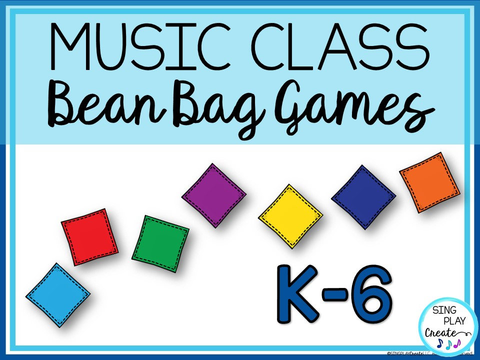 MUSIC GAMES WITH BEAN BAGS