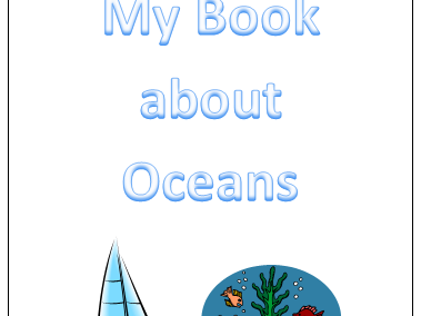 Ocean Themed Signing Book