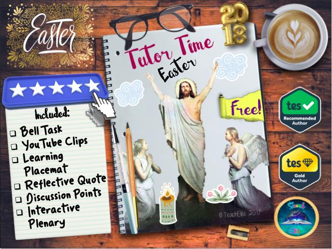 Easter Tutor Time / Lesson