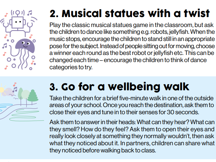 Brain Breaks - Helping children to settle and refocus