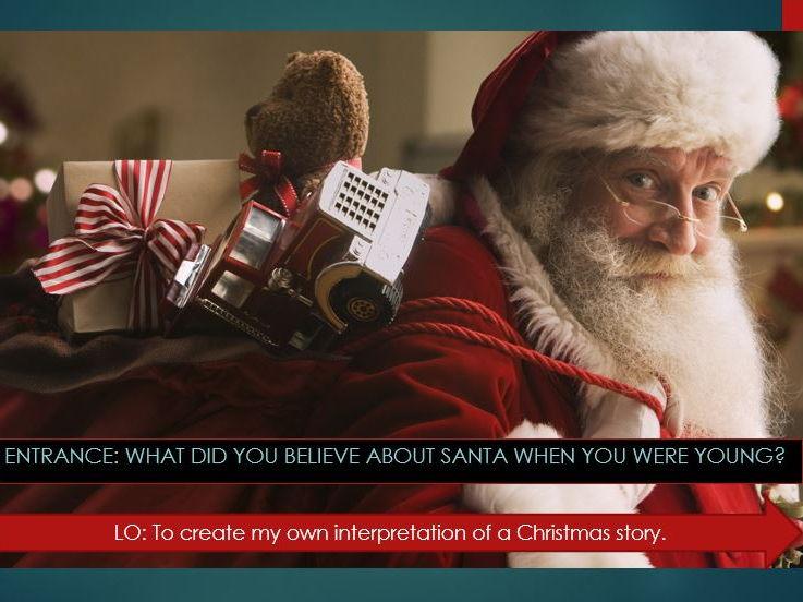 Alternative Santa Story Lesson