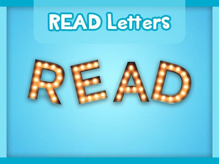 Read Display Letters