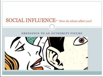 GCSE Psychology Edexcel- Social influence (Obedience to an authority figure)