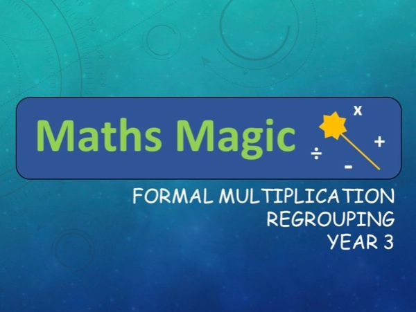 Multiplication Formal Method  Lesson 3