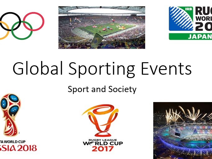 OCR A Level PE - Global Sporting Events